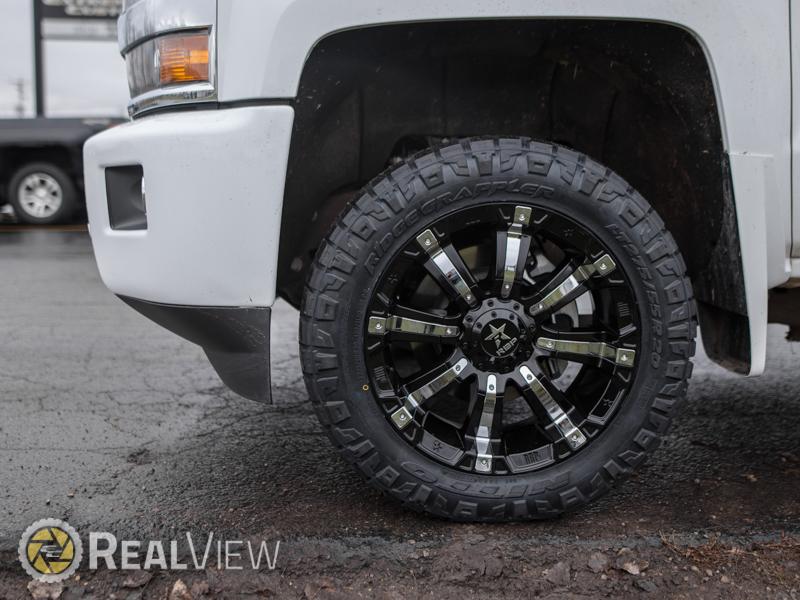 2017 Chevrolet Silverado 3500 HD 20x9 RBP Nitto LT275/55R20