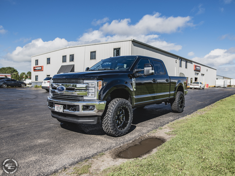2017 F250 Lift Kit >> 2017 Ford F-250 Super Duty - 20x10 SOTA Offroad Wheels 35x12.5R20 Nitto Tires Rough Country 1.5 ...