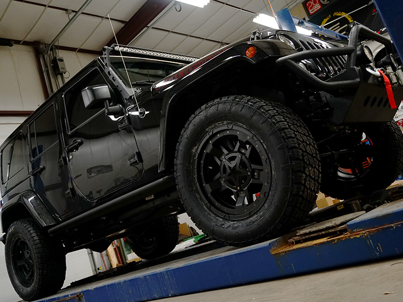 Jeep Leveling Kit >> 2017 Jeep Wrangler - 20x9 XD Series Wheels 35x12.5R20 Nitto Tires ReadyLift 3-inch suspension ...