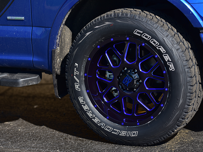 Rim Tire Package >> 2017 Ford F-150 - 20x9 XD Series Wheels 275/60R20 Cooper ...