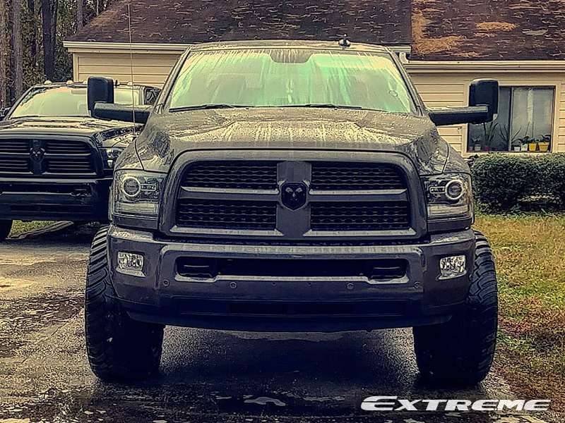 2017 Ram 2500 Leveling Kit >> 2017 Ram 2500 22x12 Vision Offroad Wheels 37x13 5r22 Amp Tires