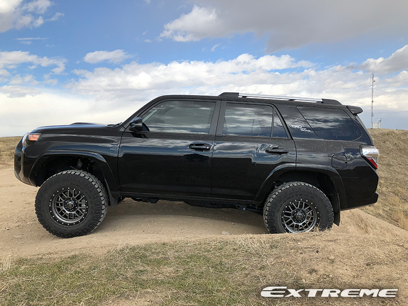 Lifted 4Runner For Sale >> 2017 Toyota 4Runner - 17x8.5 Icon Wheels 285/70R17 Goodyear Tires Icon 2.5-3 inch suspension lift
