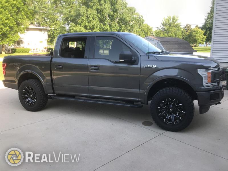 Ford F150 Rims >> 2018 Ford F 150 20x10 Fuel Offroad Wheels 37x13 5r20