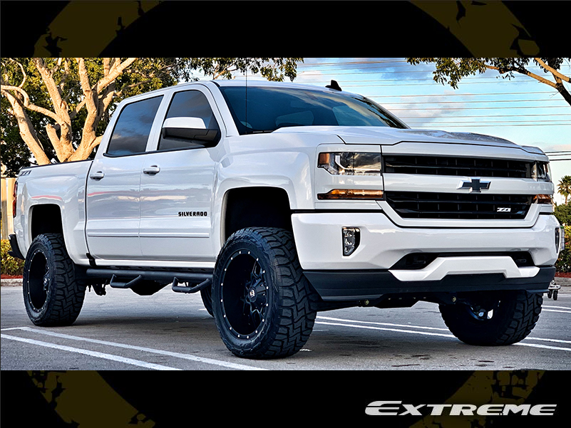 2018 Chevrolet Silverado 1500 Lt Z71 Dropstars 645b 20x10 Toyo Opencountry Rt 295 55 Bds 4inch Lifted