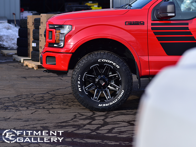 2018 Ford F150 At1903 20x9 Cooper Lt285 65 65r.