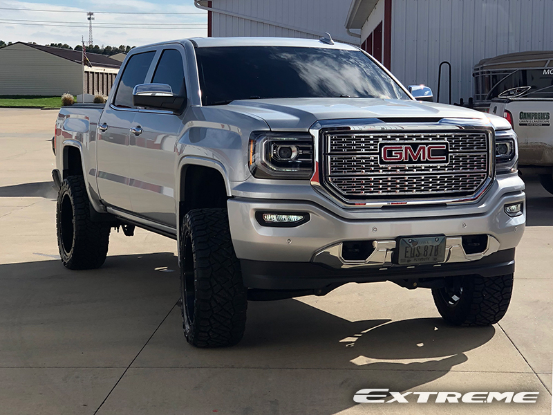 Lifted Gmc Sierra >> 2018 GMC Sierra 1500 - 22x10 Fuel Offroad Wheels 35x12 ...