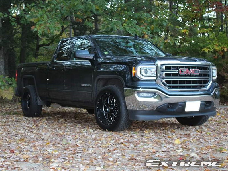 2018 Gmc Sierra 1500 Sle Xfoffroad 211 Xf 20x10 Nitto Nt420s Stock Suspension