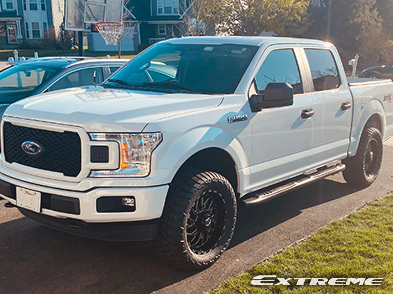 2019 Ford F150 Xl Tis 544mb 20x9 Amp Terrain Attack At 305 55r20 Suspension Lift Rough Country