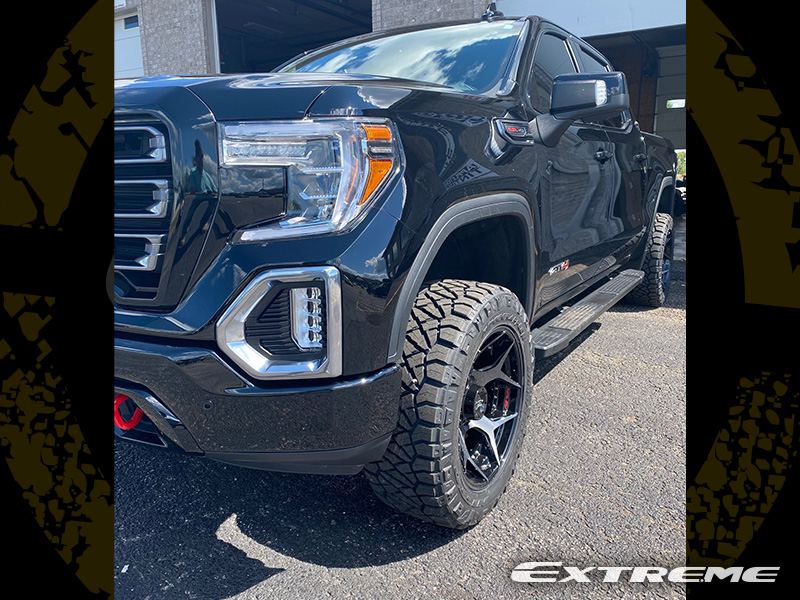 2019 Gmc Sierra 1500 At4 4play 4p50 Nitto Ridge Grappler 285 55 20 Readylift Suspension Lift