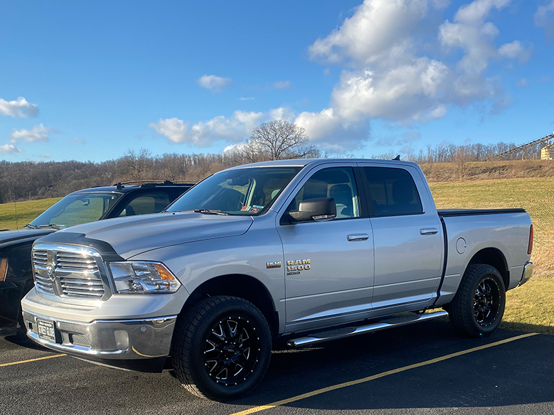 2019 Ram 1500 Classic Big Horn Hunter 203black 20x9 Ironman All Country At 275 60 20 Image1