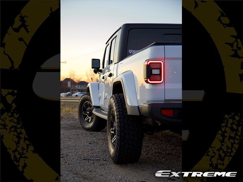 2020 Jeep Gladiator Overland Grid Offroad 18x9 Nitto Terra Grappler G2 325 65 18 Image3