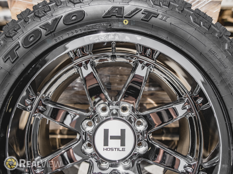 Hostile Alpha Armor Plated 8 Lug 20x10 19 H109