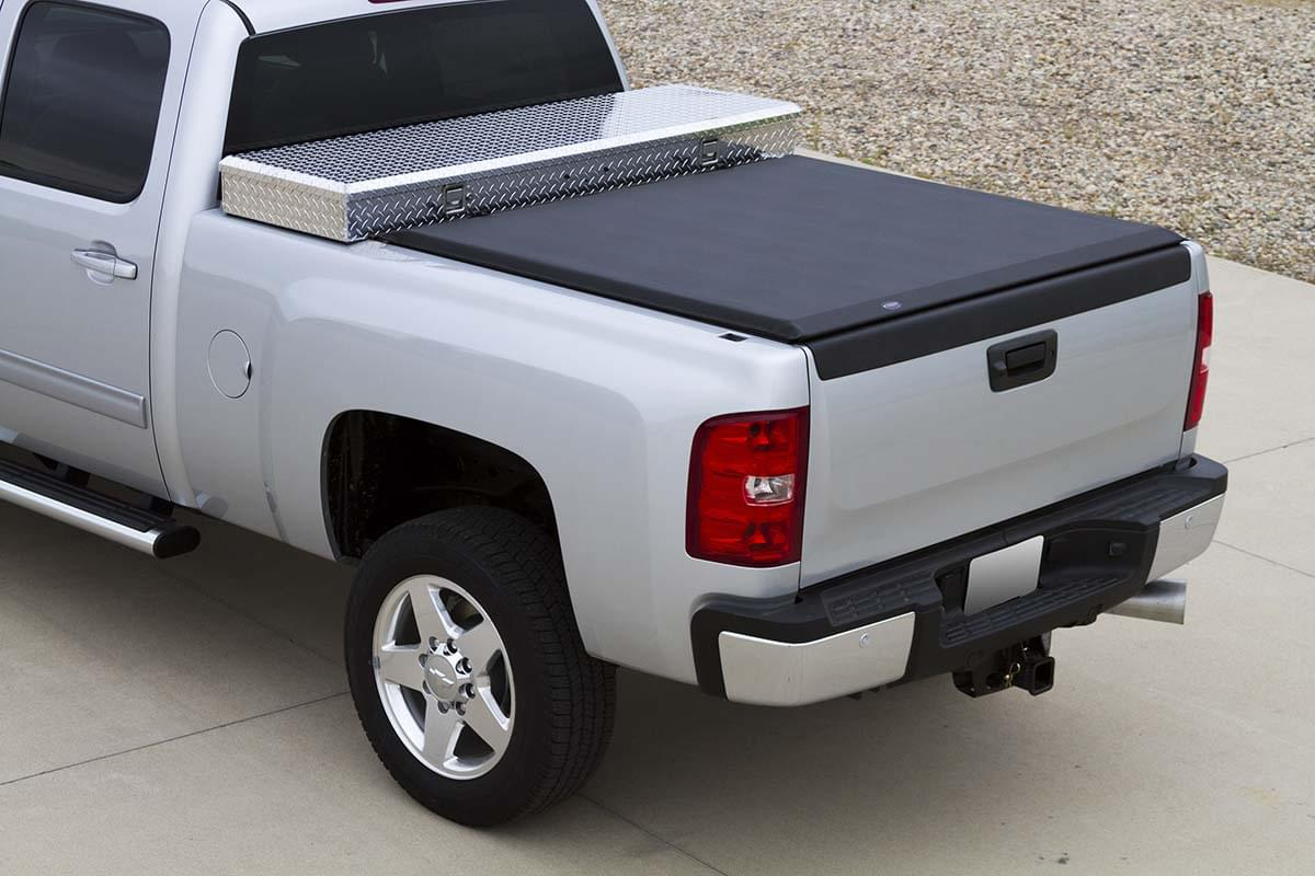 Toolbox Roll Up Tonneau Cover 8 Ft Bed
