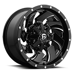 Fuel Offroad Cleaver D574 Black 17x9 +6