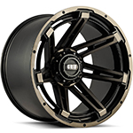 Grid Offroad GD12MB Double Dark Tint 18x9 +0