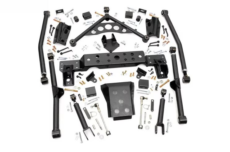 1999-2004 Jeep Grand Cherokee WJ 4IN Long Arm Upgrade Kit