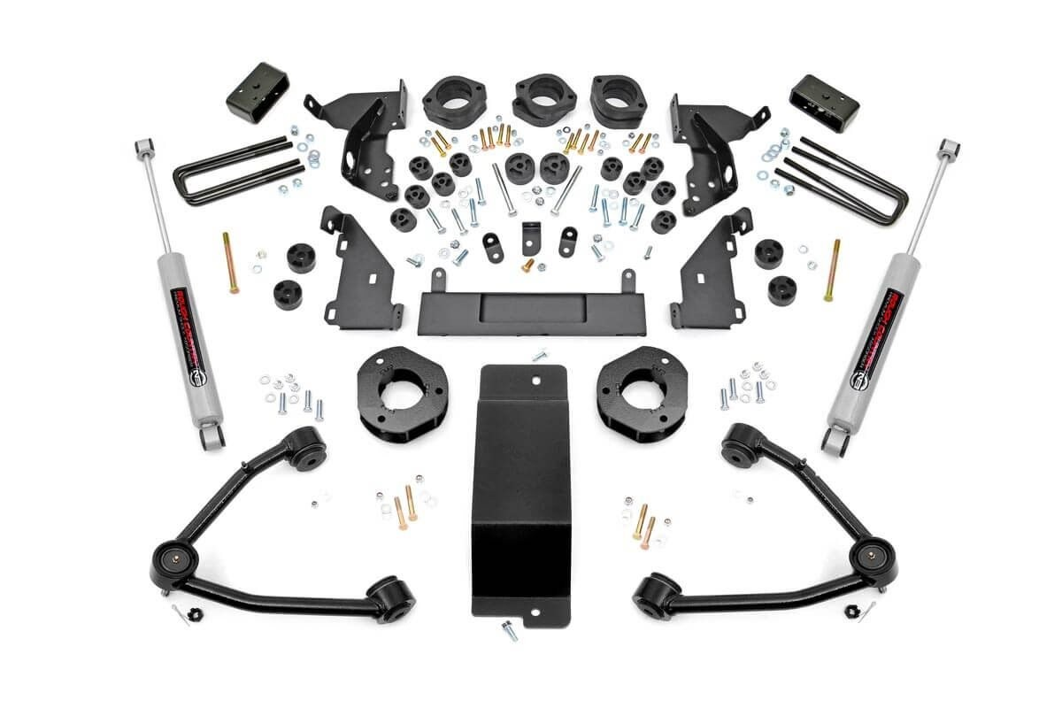 4.75-inch Suspension Lift Kit (Aluminum Knuckles/C