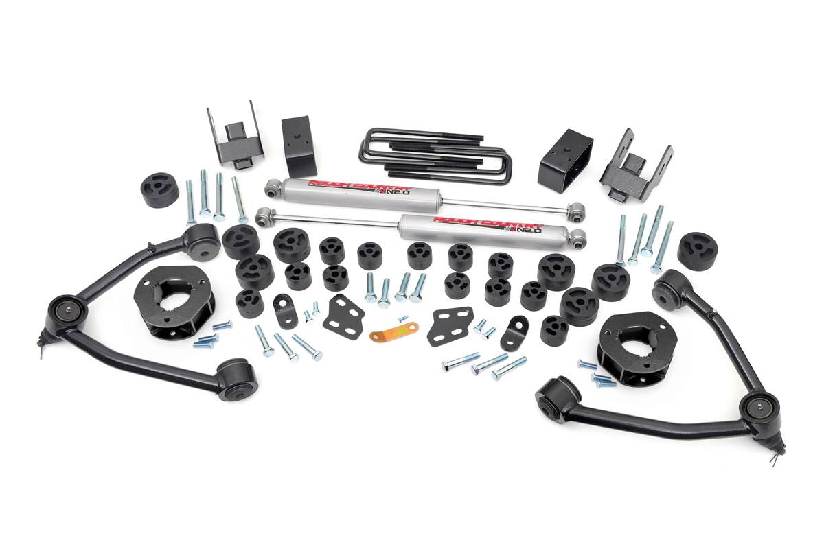 4.75-inch Suspension & Body Lift Combo Kit