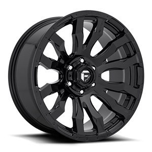 Fuel Offroad Blitz D675 Black Wheel