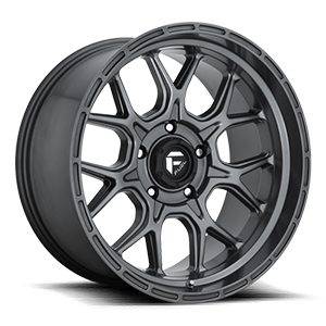 Fuel Offroad Tech D672 Gunmetal