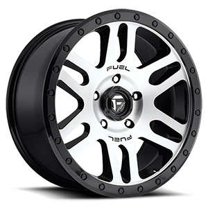 Fuel Recoil D585 Gloss Black W/ Brushed Face