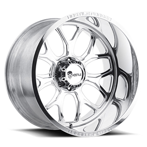 Hostile Forged Punisher Polished Wheel