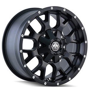 Mayhem Warrior 8015 Black Wheel
