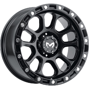 MKW Offroad M204 Satin Black