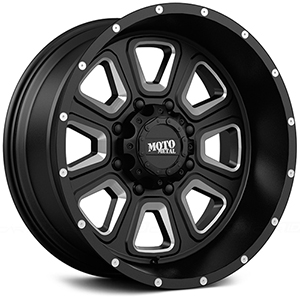 Moto Metal MO972 Gloss Black W/ Milled Spokes