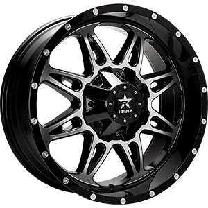 Rolling Big Power 67R AK-8 Gloss Black W/ Machined Face