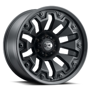 Vision Offroad Armor 362 Black W/ Black Bolts