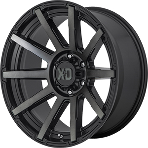 XD Series XD847 Outbreak Satin Black W Gray Tint