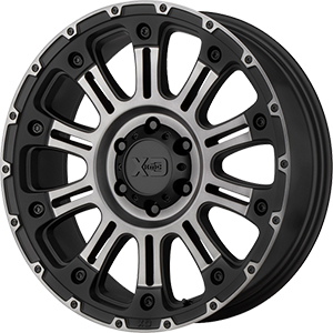 XD Series XD829 Hoss 2 Satin Black Machined Gray