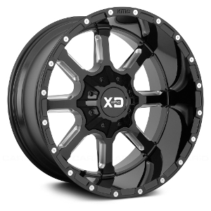 XD Series XD838 Mammoth Black Milled
