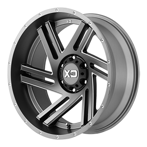 XD Series Swipe 835 Gunmetal Wheel