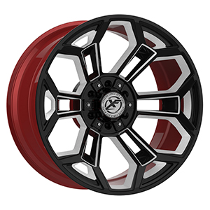 XF Forged XFX 308 Black Red Machined