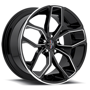 Foose Outkast F150 Gloss Black W/ Milled Spokes