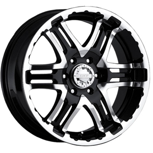 Gear Offroad Double Pump 713 Gloss Black W/ Machined Face