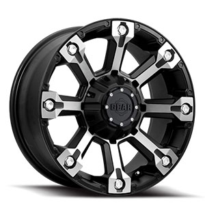 Gear Offroad Backcountry 719 Black W/ Machined Face