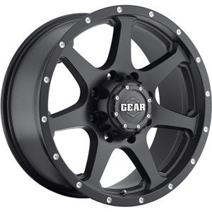 Gear Offroad Smoke 727 Satin Black