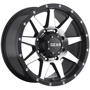 Gear Offroad Overdrive 728 Carbon Black W/ Machined Face