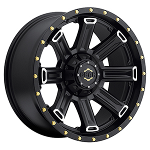 Gear Offroad Switchback 738 Satin Black W/ Machined Accents