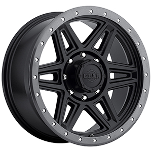 Gear Offroad Endurance 739 Satin Black W/ Anthracite Lip