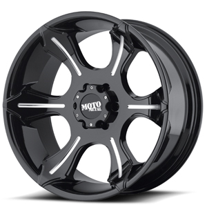 Moto Metal MO965 Gloss Black W/ Milled Spokes