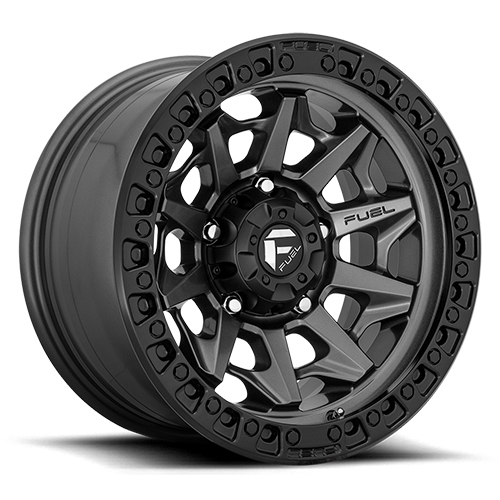 Fuel Offroad Covert D716 Gunmetal W Bead Ring Photo