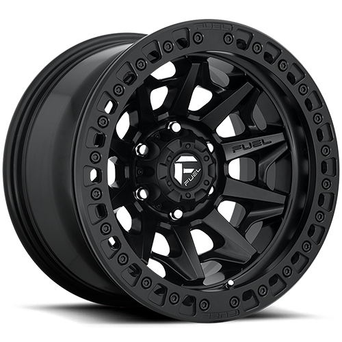 Fuel Offroad Covert D114 Matte Black Beadlock Photo