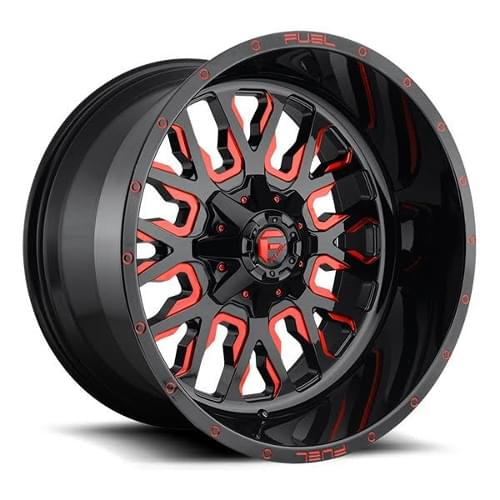 Fuel Offroad Stroke D612 Red 20x9 1 D61220909850