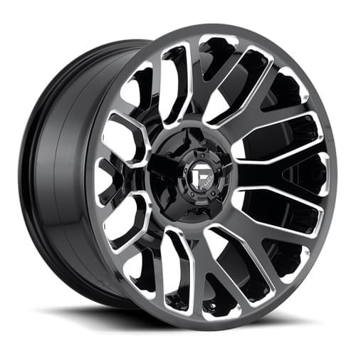 Fuel Wheels 20x9 >> Fuel Offroad Warrior D623 Black - 20x9 +20 - D62320909857