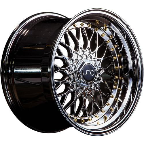 17x10 Gold Wheel JNC JNC004 5x112 5x120 25