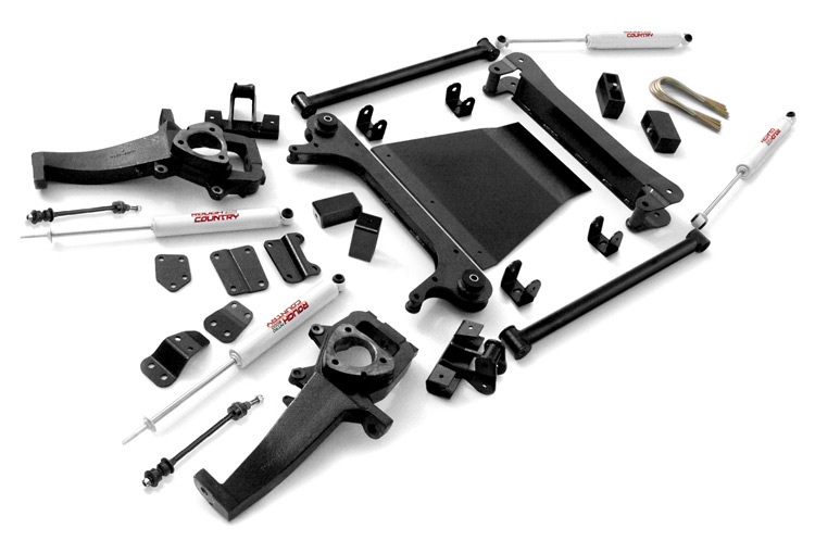 4-5-inch X-Series Suspension Lift Kit (2-inch Rear